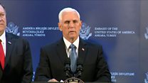 Pence announces Turkish ceasefire in Syria