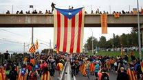 加泰罗尼亚领袖被判囚后 青年如何看示威浪潮