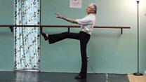 100-year-old ballet dancer
