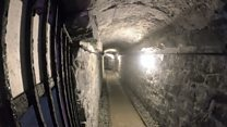 Tunnels revealed after 50-year closure