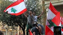 Calls for revolution at Lebanon protests