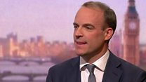 Raab confident UK will leave EU on 31 October
