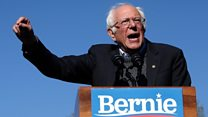 Sanders tells fans 'I am back!' after heart attack