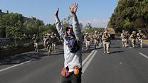 Массовые беспорядки в Чили из-за роста цен на проезд