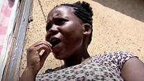 المرأة التي تأكل الصخر