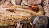 """بالفيديو: """"أهم اكتشاف أثري بمصر منذ 100 عام """""""