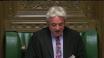 Bercow: The motion will not be debated today