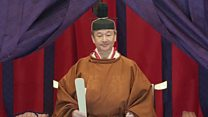 Japan's new emperor enthroned in ancient ritual