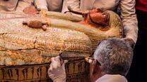 مصر میں کھدائی کے دوران دریافت ہونے والے تابوت