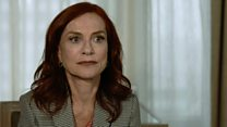 Frankie: Huppert on playing terminally ill actress