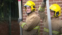 The fireman who's fighting stammer stigma