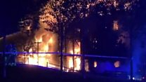 Residents fear fire disaster