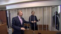 Spy suspect says he is 'hostage' in Russian jail