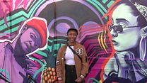 Mural celebrates 'Future Black Icons'