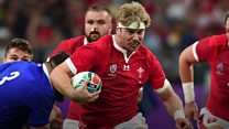 Wales' Rugby World Cup star helping young players