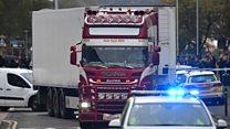 ဗြိတိန်က ကုန်တင်ကားတစီးပေါ်မှာ တရုတ်နိုင်ငံသား ရုပ်အလောင်း ၃၉ လောင်းတွေ့ရှိ