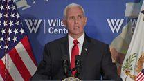 Pence slams Nike and NBA in China speech