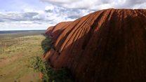 The last tourists to climb Uluru