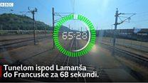 Од Британије до Француске за 68 секунди - како изгледа чувени тунел испод Ламанша
