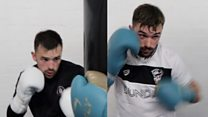 The twin boxers who refuse to fight each other