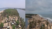 How coastal erosion destroyed an entire village