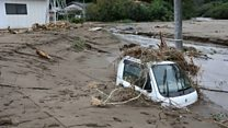 Ten dead in Japan floods