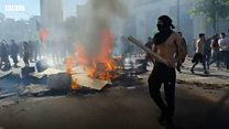 เกิดอะไรขึ้นในชิลี ทำให้ผู้คนจึงออกมาประท้วงทั่วประเทศ