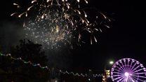 Thousands enjoy Diwali celebrations