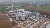 Look behind the scenes of a new £350m hospital