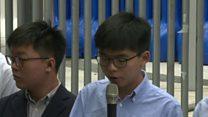 Joshua Wong: Beijing can't keep me down