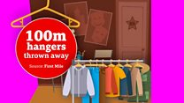 100 million plastic hangers are thrown away every year in the UK but this could change things