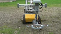 Rover-drone combo hope to spot and destroy mines