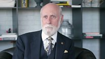 Internet 'father' Vint Cerf on challenges ahead