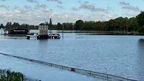 Flooding leaves West Midlands underwater