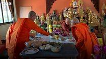 태국 최초의 여성 승려