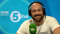 Tyson Fury: 'My song with Robbie will be Christmas hit'