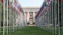 تلاشها در ژنو برای تدوین قانون اساسی جدید سوریه