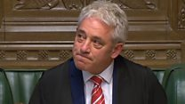 Tributes paid at Bercow's last PMQs