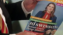 Swinson quizzed on PM 'election fantasy'