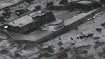 Pentagon releases footage from Baghdadi raid