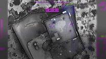 بالفيديو: اللقطات الأولى للغارة الأمريكية التي قتل فيها البغدادي
