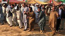 اسلام آباد کے ایچ نائن گراونڈ میں پشتون روایتی رقص