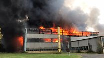 'Major' fire at business park tackled by crews