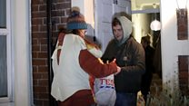 Students use 'trick or treat' to help out foodbank