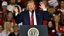 Trump mocks Beto O'Rourke at rally