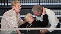Greek rescuer meets families of WW2 Jews she saved