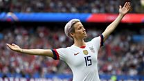 Megan Rapinoe on racism in football