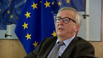 Juncker: UK will leave EU by 31 January