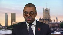 Cleverly defends 'humorous' Starmer video