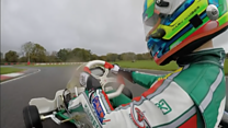 Being a karting world champion at 17